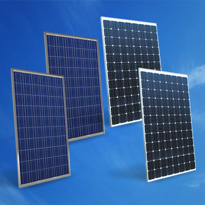 solar panels crystalline silicon