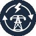 hybrid solar inverter IPCV series respond power failure