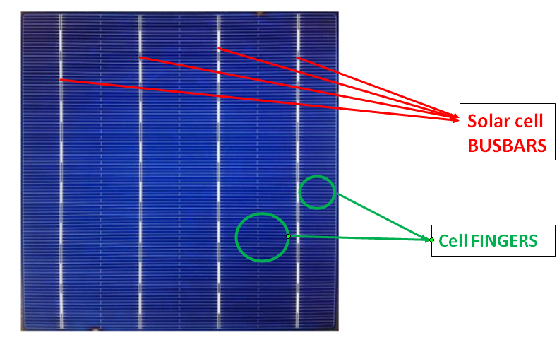 Solar Busbar And Fingers Explained Novergy Solar