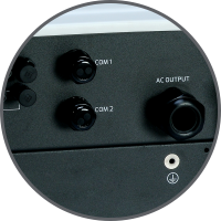grid tie inverter benefit - Waterproof Connection